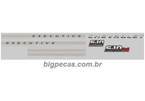 FAIXA S10 2009 EXECUTIVE CABINE DUPLA
