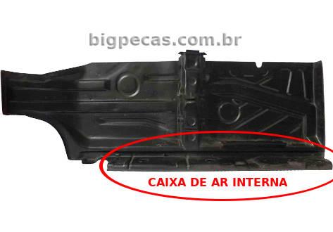 ASSOALHO COM CAIXA DE AR INTERNA GOL BOLA/ G3/ G4