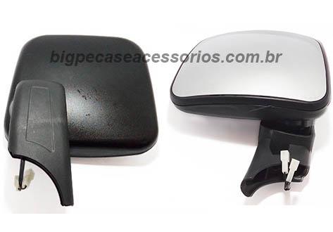 ESPELHO RETROVISOR AUXILIAR COM DESEMBACADOR SCANIA  S4/S5 CANAVIEIRO