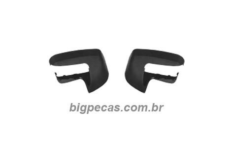 CAPA INFERIOR BRAÇO RETROVISOR AXOR/ATEGO