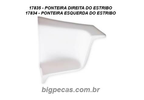 PONTEIRA DO ESTRIBO CHEVROLET D11000
