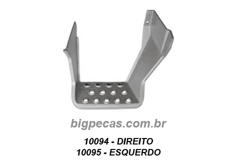 ESTRIBO INFERIOR FORD CARGO (TODOS ATÉ 1999)