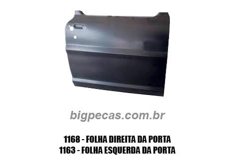 FOLHA DA PORTA F100/ F1000 (TODAS ATÉ 1992)