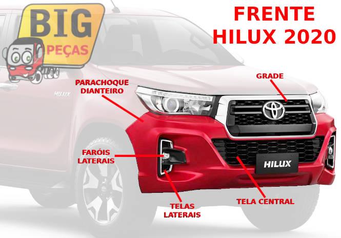 FRENTE HILUX 2019