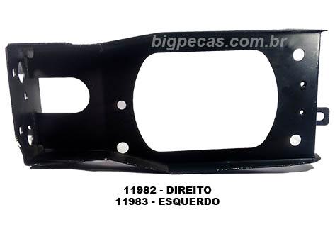 SUPORTE DO PARACHOQUE VW 16140/ 35300 (1994 ATÉ 1999)