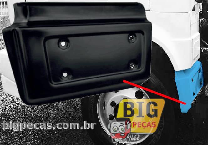 PARALAMA TRASEIRO DA CABINE VW WORKER 7110/ 8120/ 8150 (ATÉ 2005) - (imagem meramente ilustrativa)