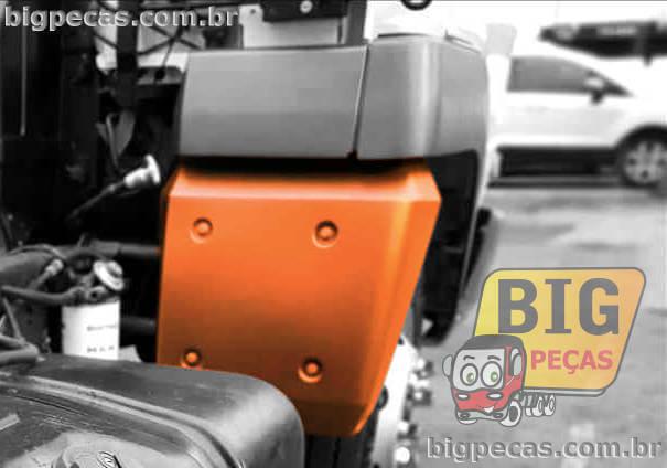 PARALAMA TRASEIRO DA CABINE EM PLÁSTICO VW DELIVERY 5140/ 8150/ 9150/ 8160