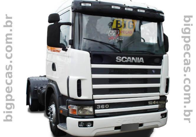 SCANIA S4 124G 360 - CARA CHATA - FRENTE - (imagem meramente ilustrativa)
